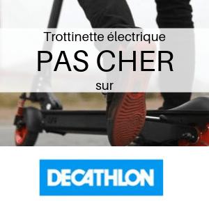 Trottinette électrique PAS CHER chez Decathlon