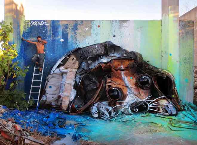 Credit: Bordalo II
