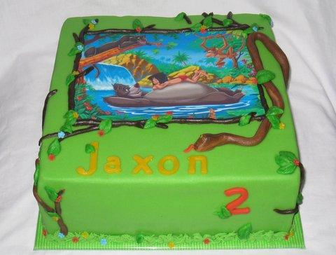 Jungle Book taart
