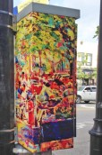 Impressionist Main St by Walter Griggs