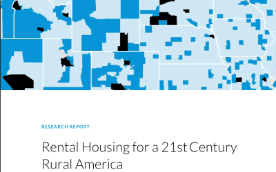 Rental Housing for a 21st Century Rural America