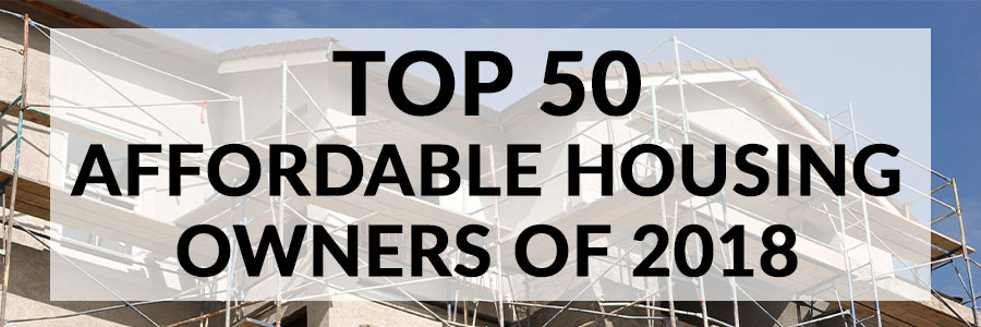 Top 50 Affordable Housing Owners of 2018