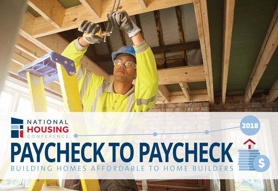 Study: Paycheck to Paycheck – Building Homes Affordable to Home Builders