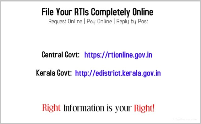 File RTI Online