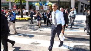 Obama Walking Confidence