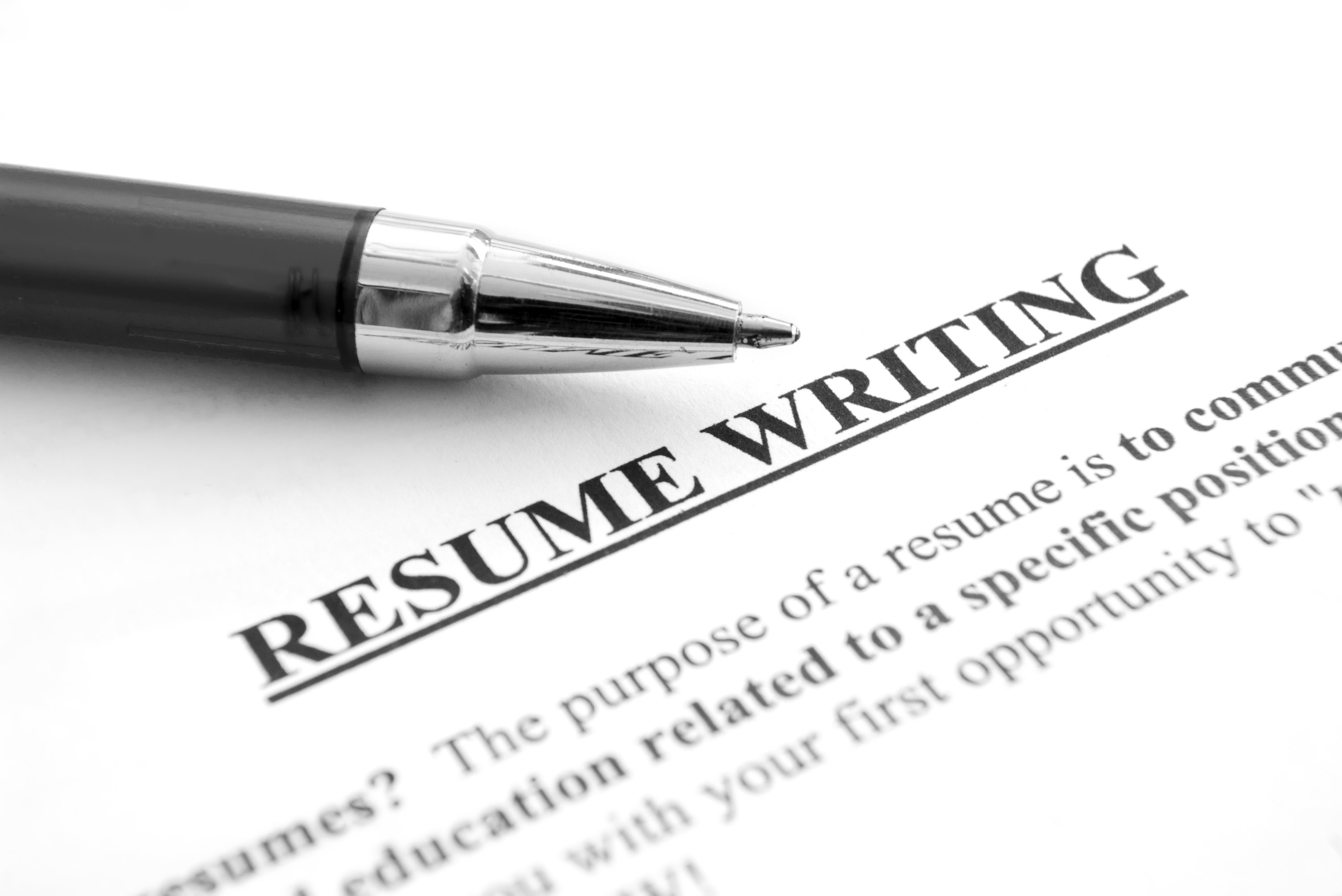 resume Resume Writing writing 12 things for a fresher to ponder taaism ponder