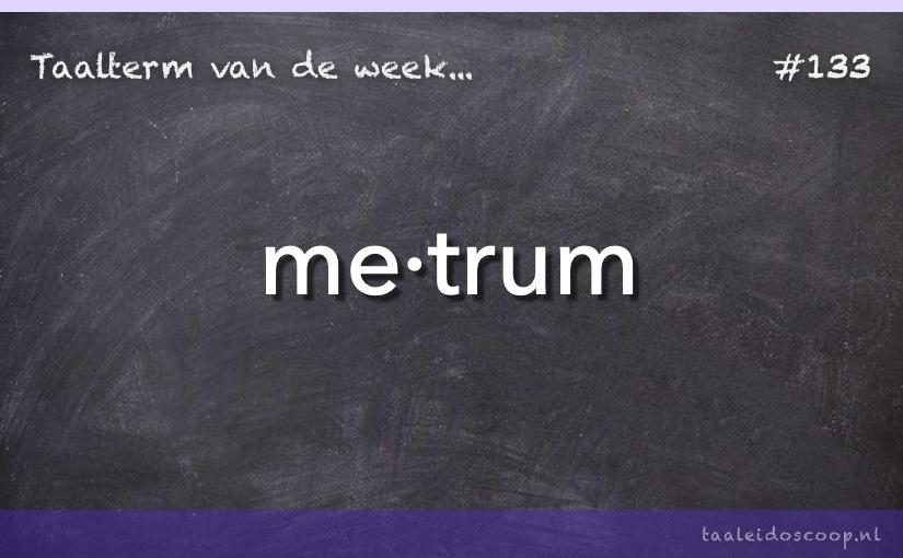 TVDW: Metrum