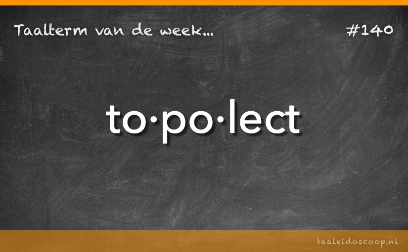 TVDW: Topolect