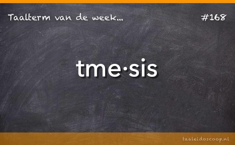 TVDW: Tmesis
