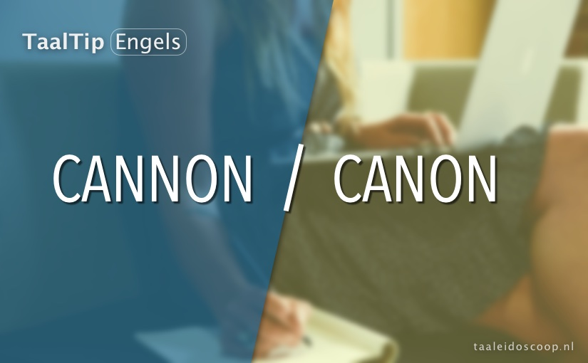 Cannon vs. canon
