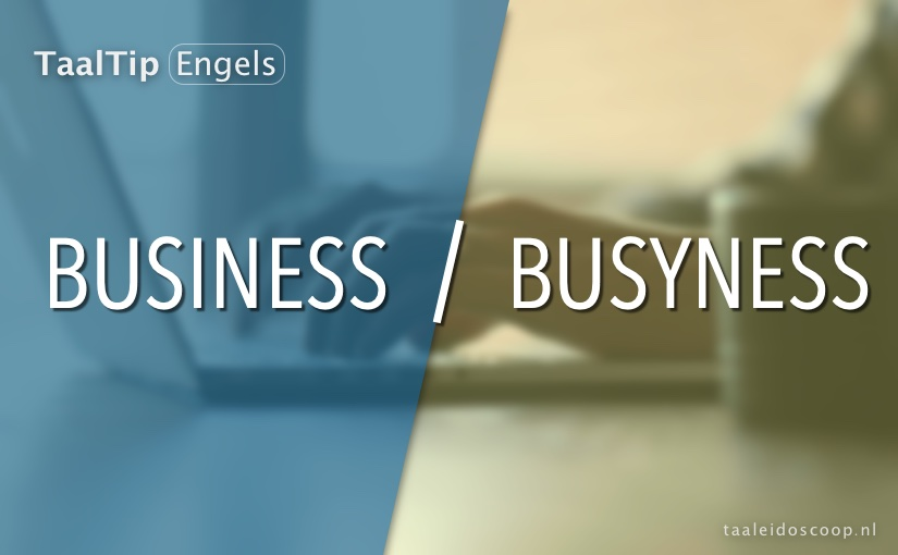 Business vs. busyness