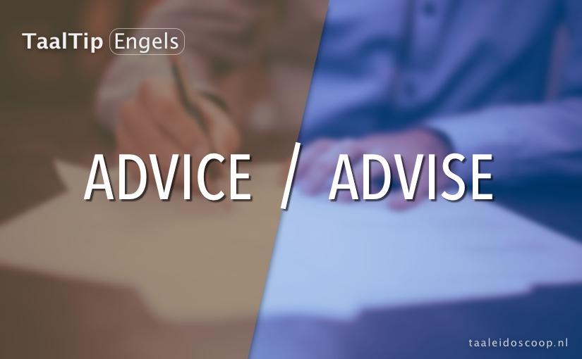 Advise vs. advice