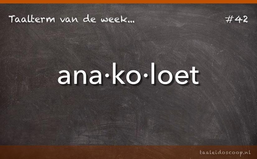 TVDW: Anakoloet