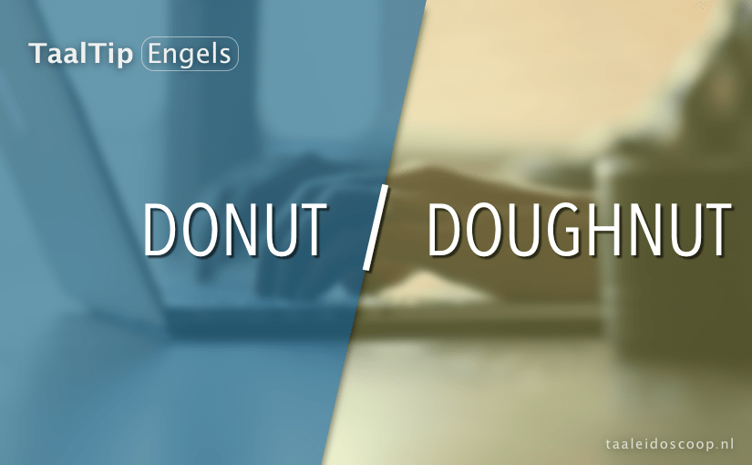Donut vs. doughnut