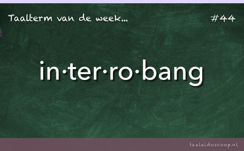 TVDW: Interrobang