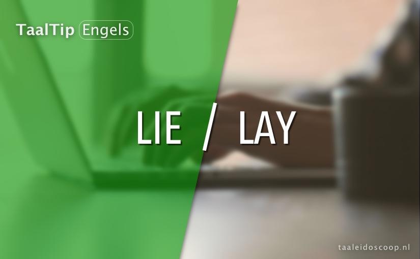 Lie vs.lay