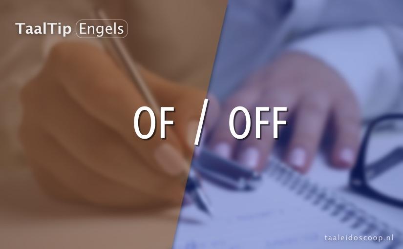 Of vs. off
