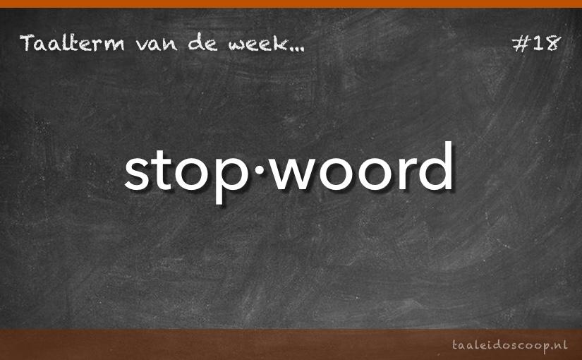TVDW: Stopwoord
