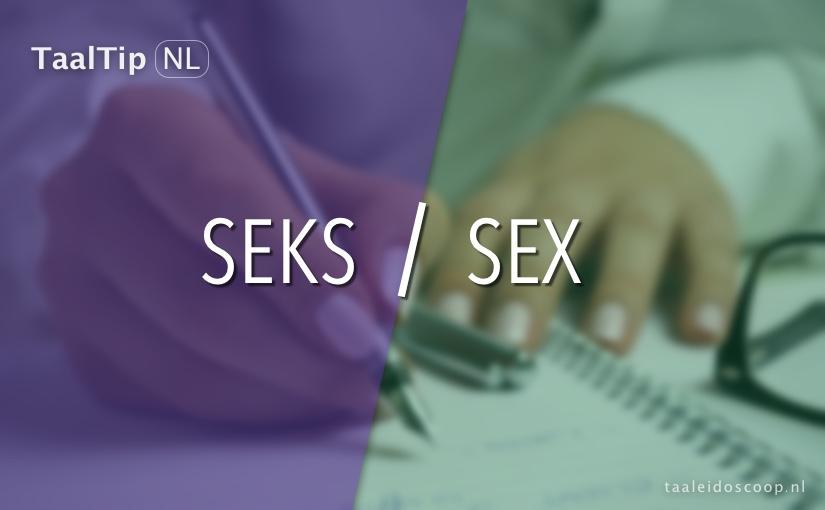 Seks vs. sex
