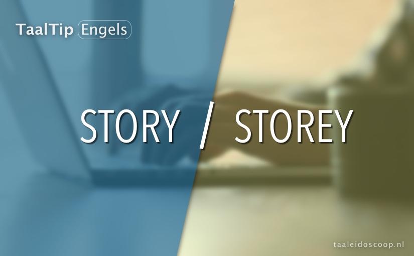 Story vs. storey