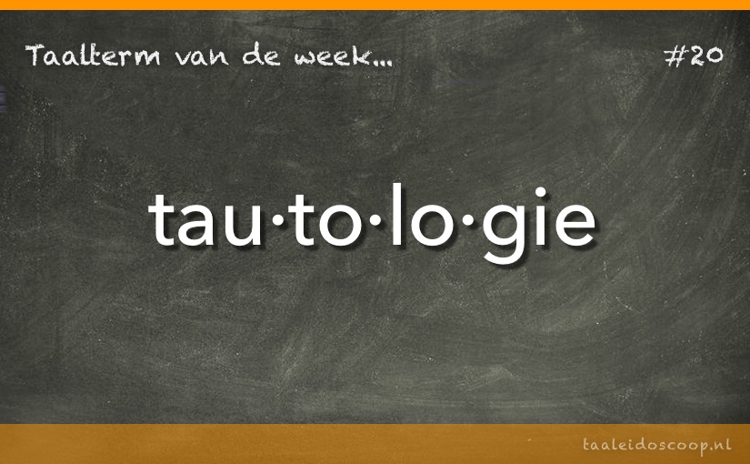TVDW: Tautologie