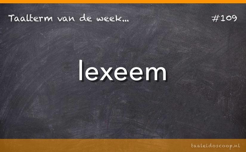 TVDW: Lexeem
