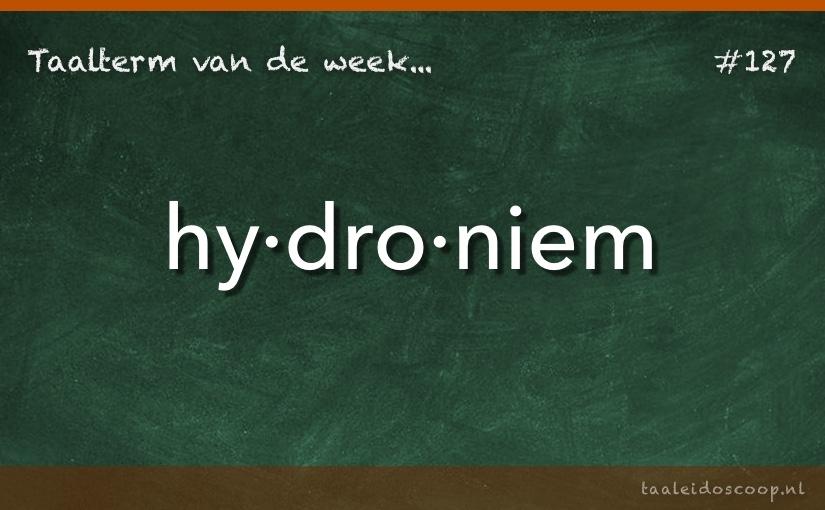 TVDW: Hydroniem