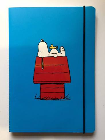 Classic Snoopy notebook