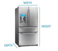 fridge-measure