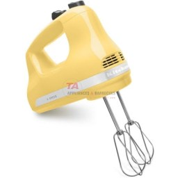 KitchenAid® 5-Speed Ultra Power™ hand mixer. The powerful lightweight motor makes the hand mixer easy to use, while multiple speeds allow you to handle any recipe.