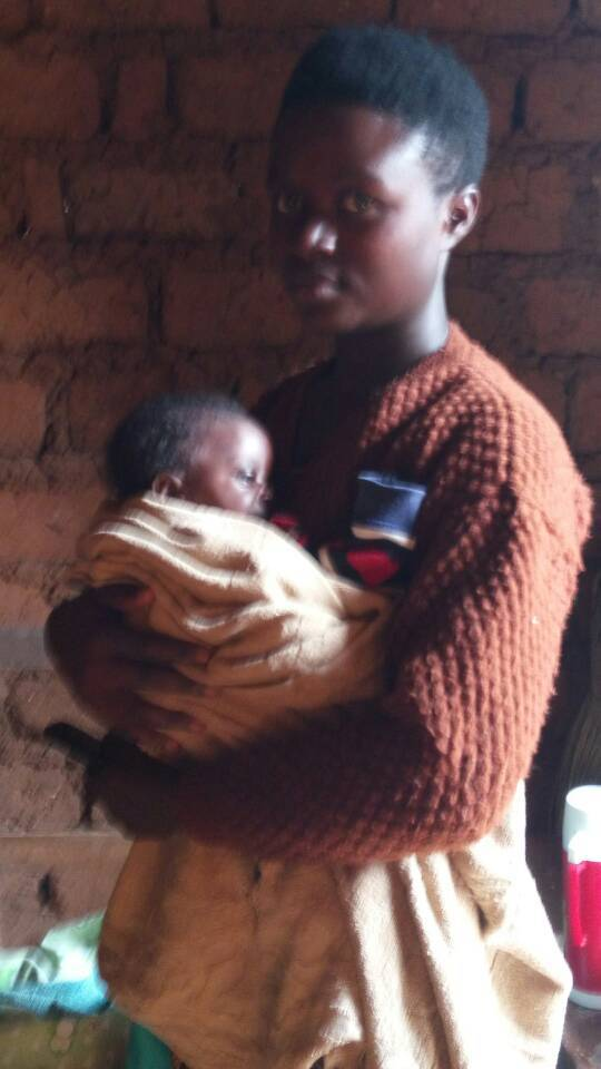 Young Defiled Girl in rwanda at young age