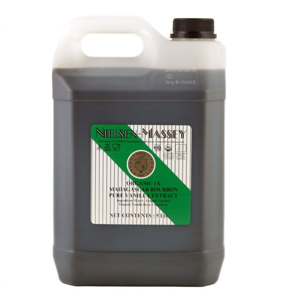 Biologisch Madagaskar Bourbon vanille-extract (5l)