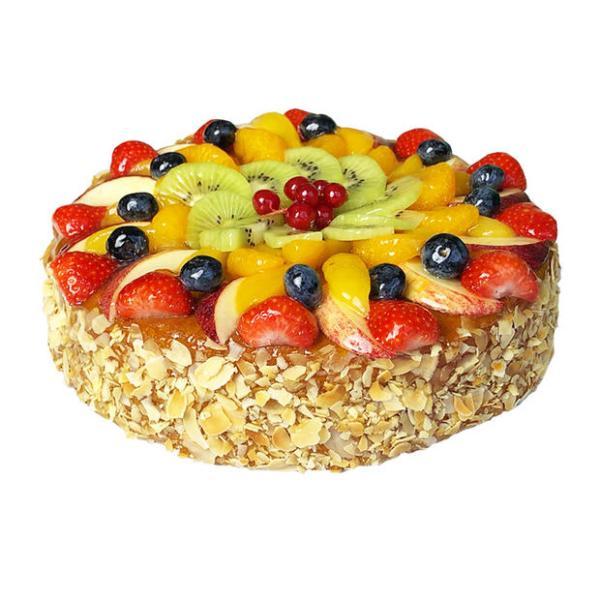 Verse Vruchten taart