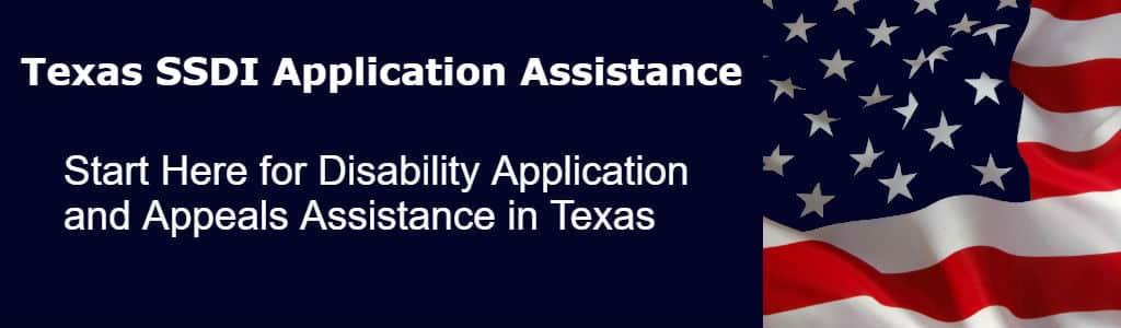 Texas SSDI Appeals Assistance