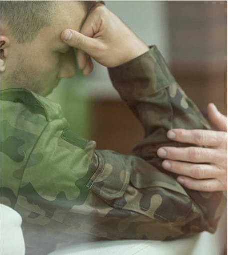 suffering from PTSD