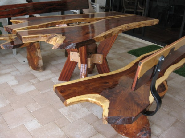Exotic Wood Furniture
