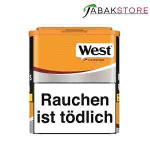 West Yellow Tabak Dose 12,50€