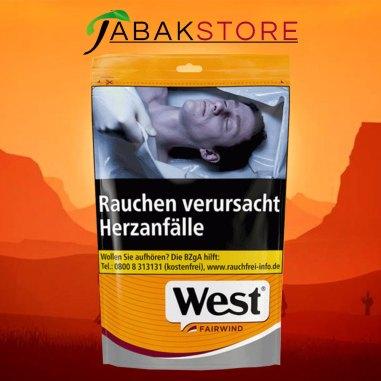 west-yellow-volumentabak-beutel