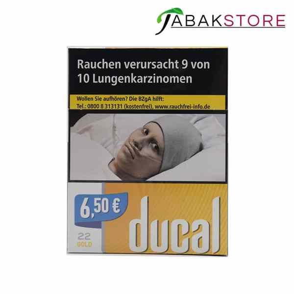 Ducal Gold 6,50€ Zigaretten