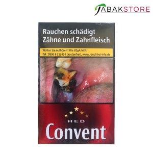 Convent Red die Zigaretten mit dem guten Geschmack und Preis 5,10€ ( 1x Zigarette = 25,5 Cent)