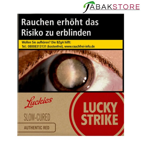 Lucky-Strike-Authentic-Red-ohne-Zusätze-10,00-Euro