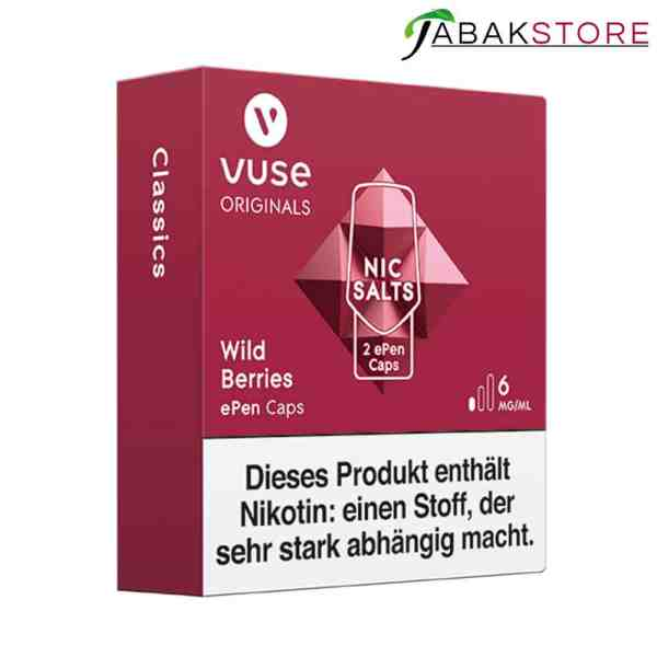 Vuse-ePen-Caps-Wild-Berries-6-mg-links-seitlich