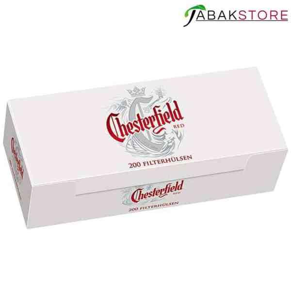 Chesterfield Red Hülsen