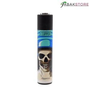 Skull-Blue-Feuerzeug