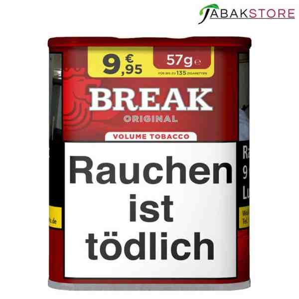 Break Red-Volumentabak-57g
