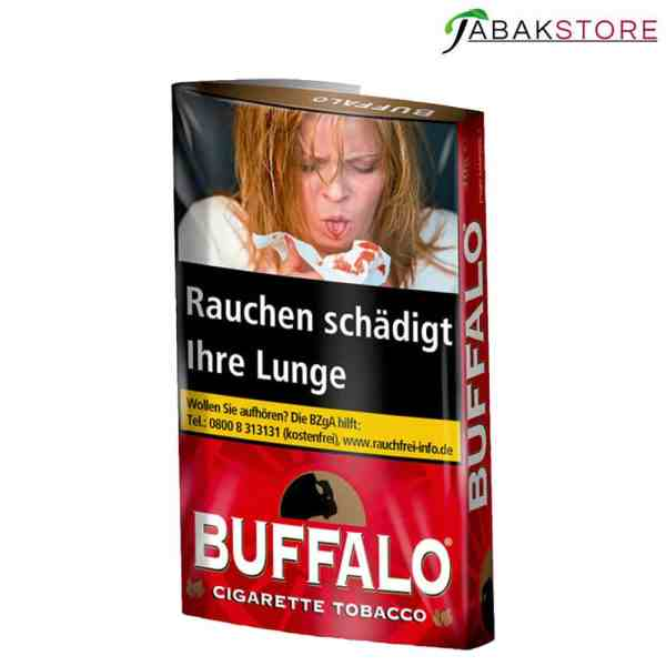 Buffalo-Red-Drehtabak