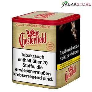 Chesterfield-Tabak-ohne-Zusätze