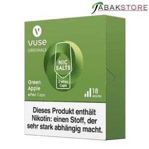 Vuse-epen-caps-green-apple-18-mg-rechts-seitlich