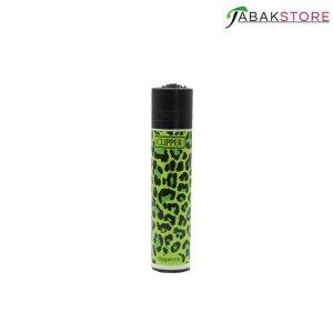 clipper-leoparden-grün-feuerzeug