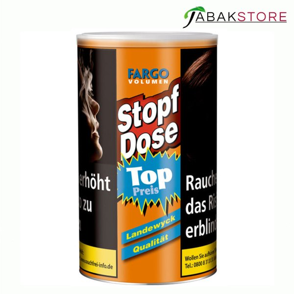 fargo-volumen-tabak-gelb-stopf-dose